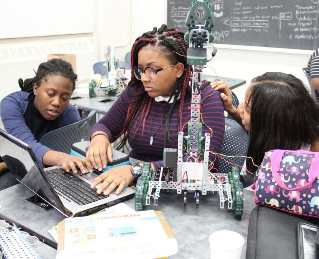Summer of STEAM: NYU Robotics Summer Camp