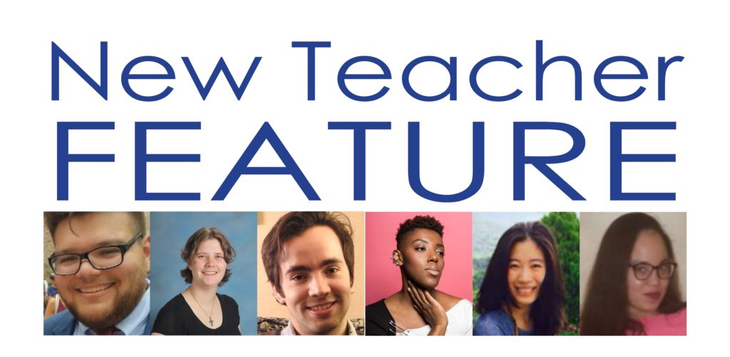 New Teacher Feature!