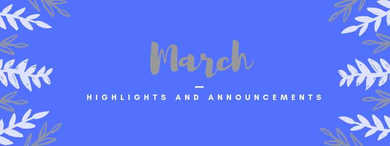 March at SJHS: Highlights and Announcements