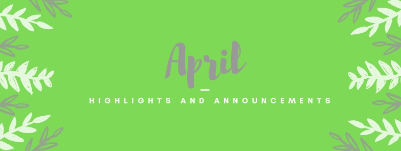 April at SJHS: Highlights and Announcements